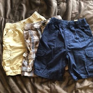Childrens Place > 3 Pair Boys 4T Cargo Shorts